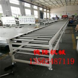 dl-148工装板流水线双层辊道输送线滚筒输送机