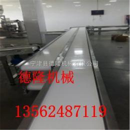 dl-50螺旋输送冷却线链板输送机裙边爬坡输送机Z型爬坡输送机