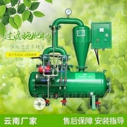 SGL双过滤施肥机云南农用施肥机大田蔬菜种植水肥一体化设备
