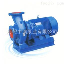 ISW卧式管道泵价格《中澳泵》