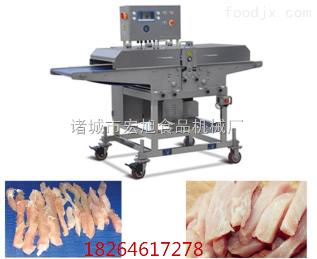 200型新型 切鸡柳机 鸡柳切条机 肉类切条机 大型切肉机