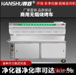 HS-SKC1500无烟烧烤车价格-烧烤车价格-上海无烟烧烤车价格-1.5米无烟烧烤车价格