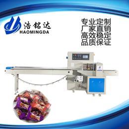 HMD-250水果软糖包装机-糖果包装机厂家-佛山浩铭达包装机械