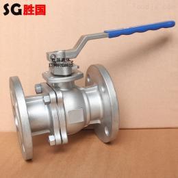 Q41F-不銹鋼一體式手動高溫法蘭球閥