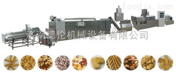 DL-65大豆蛋白膨化食品机械,麦烧膨化食品机械