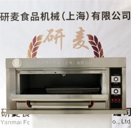 YM-102D不銹鋼一層兩盤食品烤箱
