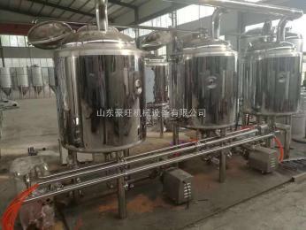 HW-200自酿啤酒设备 精酿设备 厂家自销200升设备