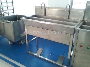 ZK-102諸城正康供應腳踏式多頭洗手池消毒洗手槽