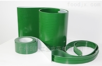 廠家直銷綠色輸送帶耐磨PVC加導條擋板爬坡