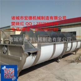 YLX25-40鸡鸭鹅屠宰用预冷设备不锈钢螺旋预冷机预冷机工作原理