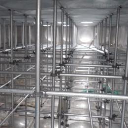 定制大型 不锈钢水箱 冲压板