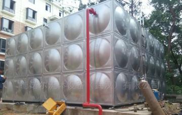 定制不锈钢板生活水箱屋顶水箱