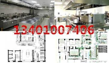 456餐飲店后廚排煙設備|食堂廚房抽油煙機|酒店通風管道設備|通風凈化管道安裝