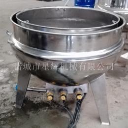 XH100-1000麻辣鸭脖卤煮夹层锅 饭店用炖肉熬粥蒸煮锅