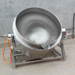 XH100-1000供应河北猪头肉大型卤肉锅 海参蒸煮夹层锅