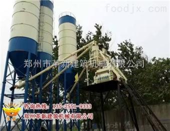 混凝土攪拌站生產線配置高HZ521