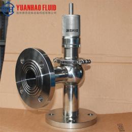 安全閥衛生級不銹鋼304 316L可調式法蘭安全閥