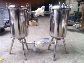 按客戶要求而定廠家直銷 供應國禹衛生級不銹鋼雙聯過濾器