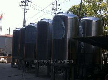 按客户要求而定厂家直销 供应国禹不锈钢压力储罐 层流罐
