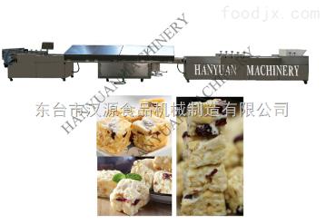 HY-68L厂家直销牛轧奶芙牛轧糖谷物棒切块成型机