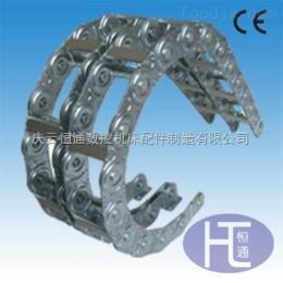 高柔性钢制拖链 渗碳金属拖链 大型钢铝拖链