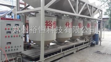 plc配料系统耐火材料称重配料控制系统|电脑自动配料系统