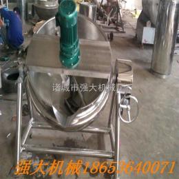 200蒸汽夹层锅 高温蒸煮锅 馅料搅拌锅 夹层锅供应商