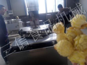 SX-B电磁加热大型奶香味爆米花机
