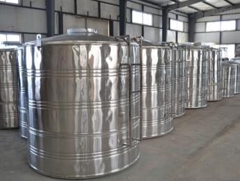 不銹鋼水箱加工廠圓形不銹鋼水箱