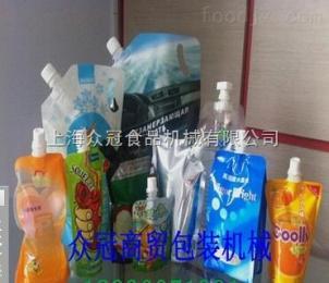 ZLD-4A全自动袋装液体包装机 液体果汁自立袋灌装机 自立袋包装机