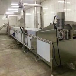 HH全自動一體化紅薯片油炸機流水線 終身質保