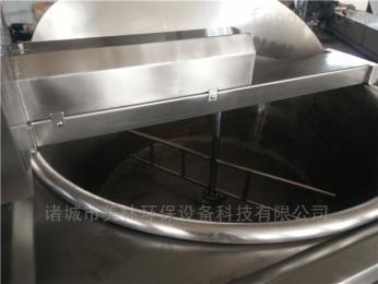JM-1300豆泡全自动油炸机带搅拌