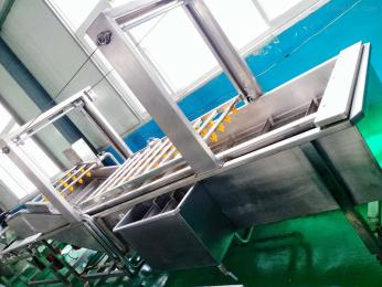JM-1000喷淋式气泡清洗机全自动蔬菜清洗设备
