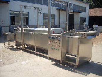 JM-1500耦合油炸機全自動油炸流水線