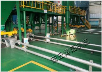 GL250管链式输送机玉米管道上料机环链输送设备厂
