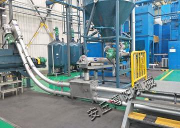 GL300博阳管链提升机 钛色素管链机 管式输送机