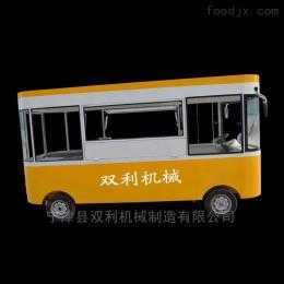 可定制美食家餐车小吃车加盟店收益可观经营压力