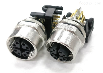 X-KYF12K8Z-M-WX-coding弯角PCB板插座