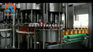 张家港果汁饮料灌装包装机