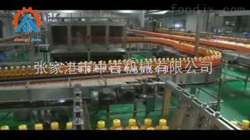 塑料瓶果粒橙颗粒饮料灌装机