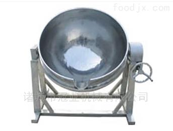 小型可倾蒸汽夹层锅设备
