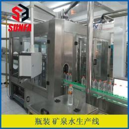 XGF8-8-3自動化礦泉水灌裝設備   全套桶裝水生產線