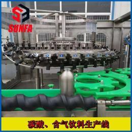 DXGF32-32-10钢瓶啤酒灌装设备  含气饮料生产线