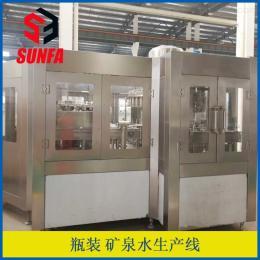 XGF40-40-12全自動蒸餾水灌裝線  礦泉水生產線價格