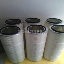 350*660河北进口除尘滤芯 粉尘滤筒-固安县玉轩滤清器厂