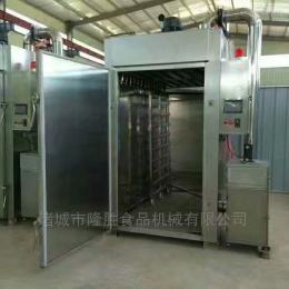 按加工产量定制腊肉烟熏炉是集蒸煮烘干上色一体的专业设备