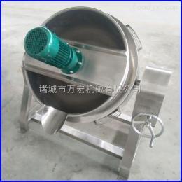 500万宏机械500型可立式夹层锅 带盖夹层锅