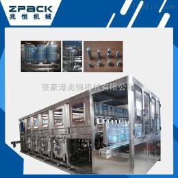QGF五加仑大桶水灌装生产线 大桶水生产线 五加仑灌装生产厂家
