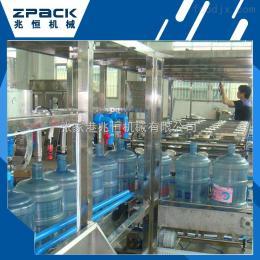 QGF-450大桶水生产线 桶装水生产厂家 桶装水生产线
