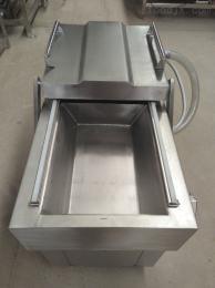 DZ600型廠家定制不銹鋼火鍋底料專用雙室真空包裝機